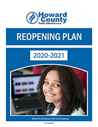 Cover: 2020-2021 Reopening Plan document.