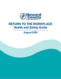 Cover: 2020-2021 Return to the Workplace document.