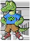 Logo: Gorman Crossing Elementary School mascot