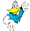 Logo: Manor Woods Elementary School mascot